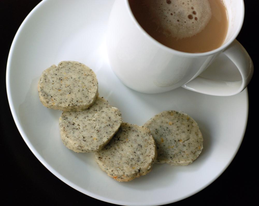 Earl Grey Tea Shortbread Cookies | the taste space