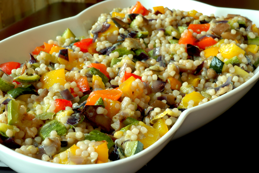... couscous avocado and red pepper israeli couscous israeli couscous with