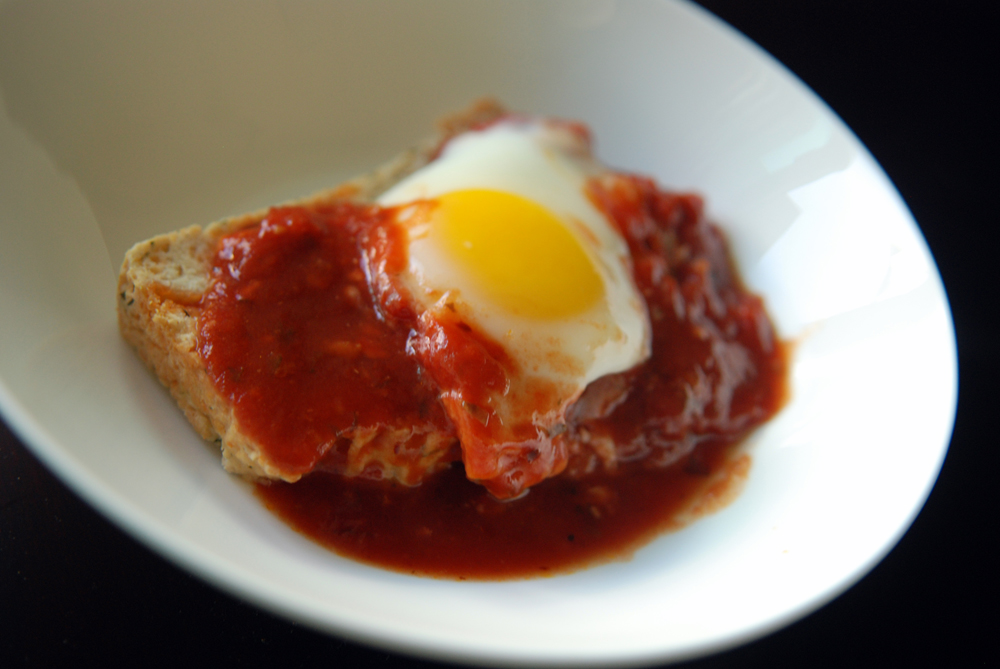 Eggs Poached in Tomato Sauce | the taste space