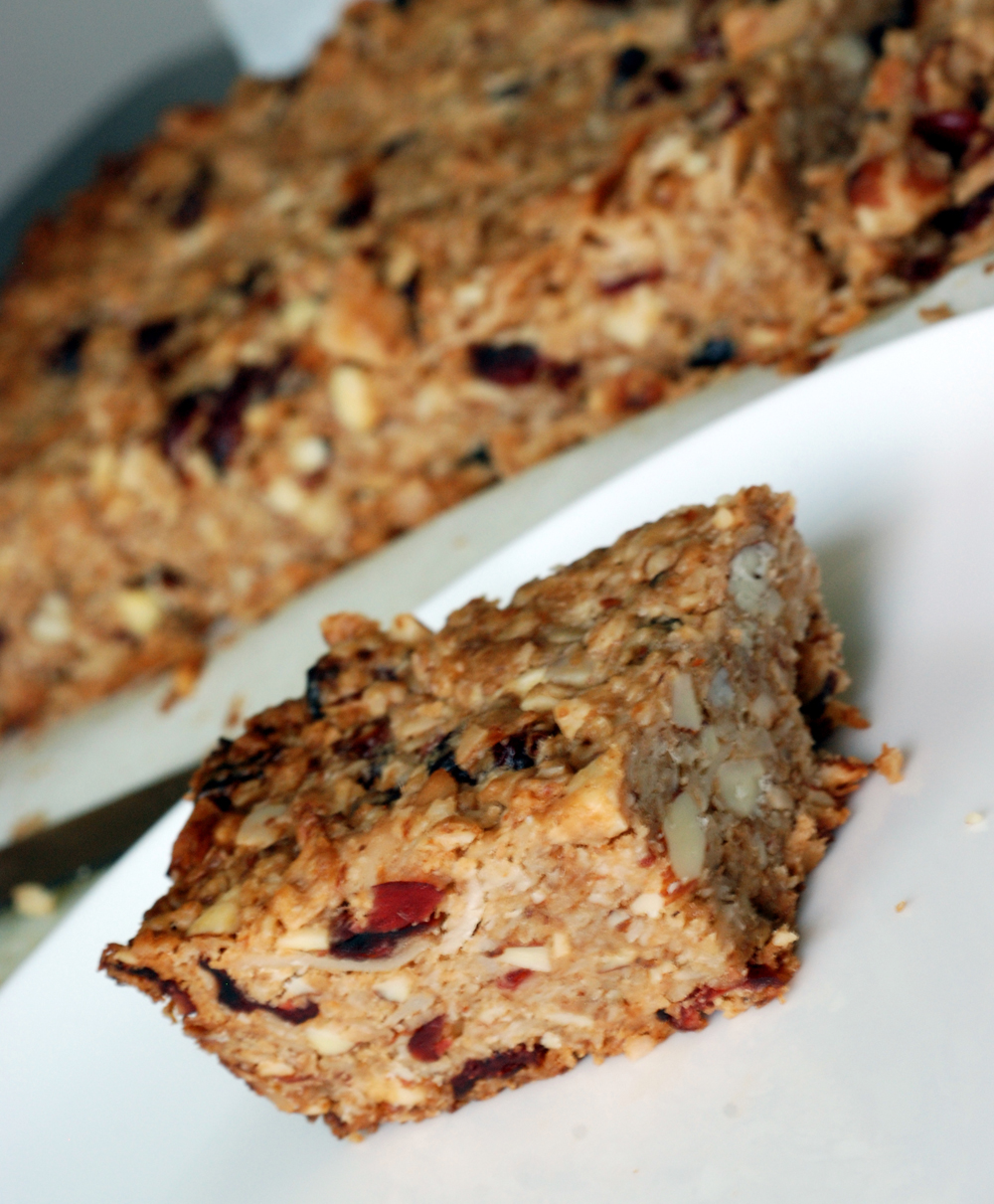 Thick Chewy Cranberry Granola Bars The Taste Space