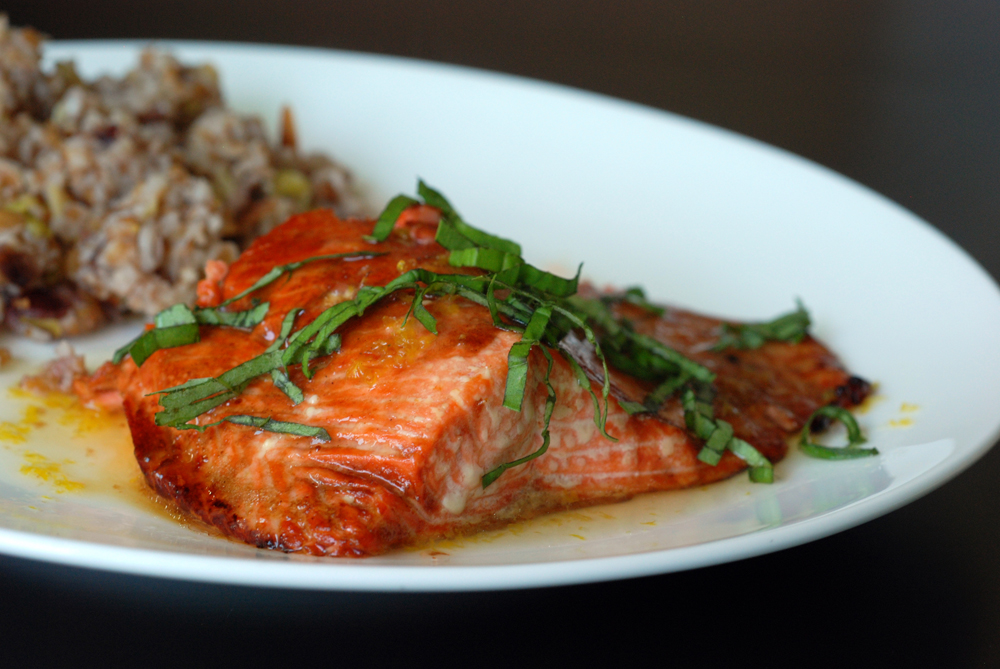 Pomegranate Molasses Salmon Recipes — Dishmaps