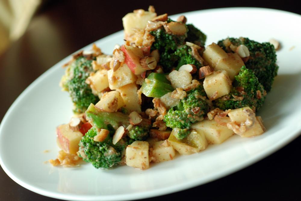 Almond Broccoli Crunch Salad | the taste space