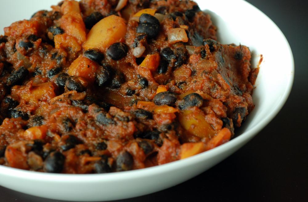 Borlotti Bean Mole With Roast Winter Squash Recipes — Dishmaps