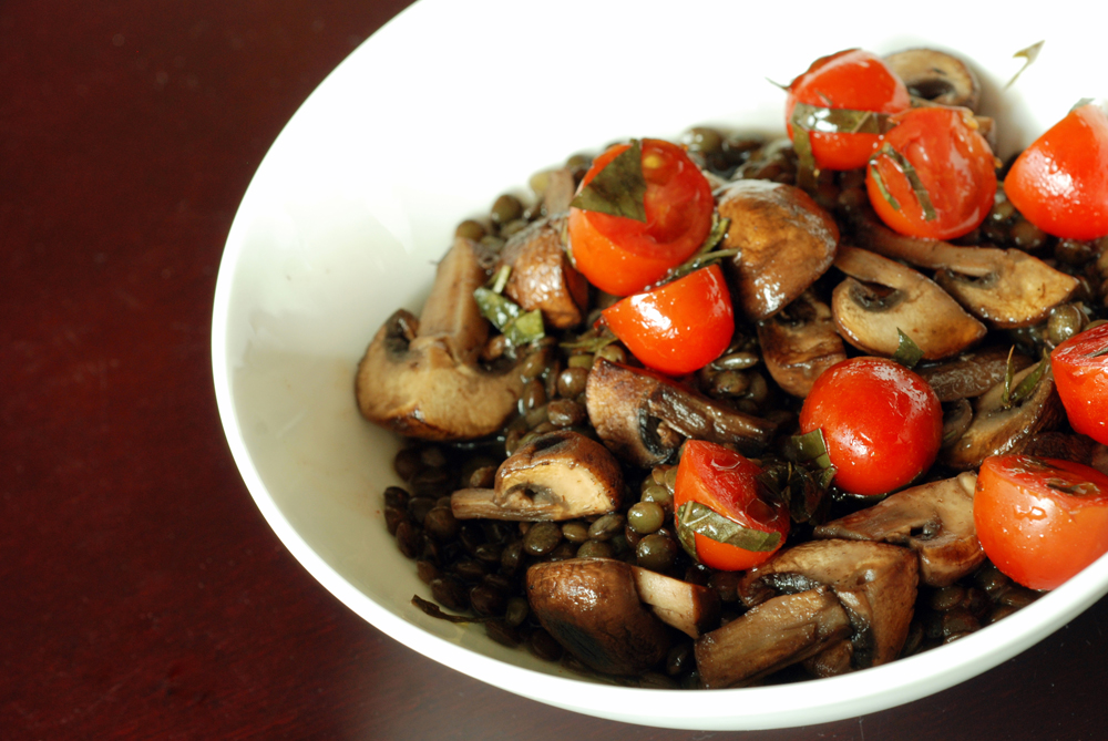 Spanish Lentil and Mushroom Stew (and Giveaway Winner) | the taste ...