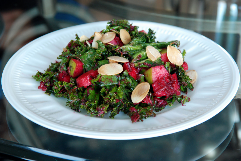 with kale salad with beets tofu kale salad with beets smoked tofu kale ...