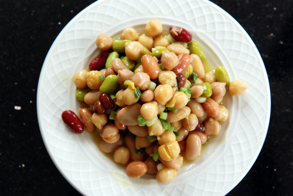 Symphonic Mixed Bean Salad (Ready in 5 Minutes!) | the taste space