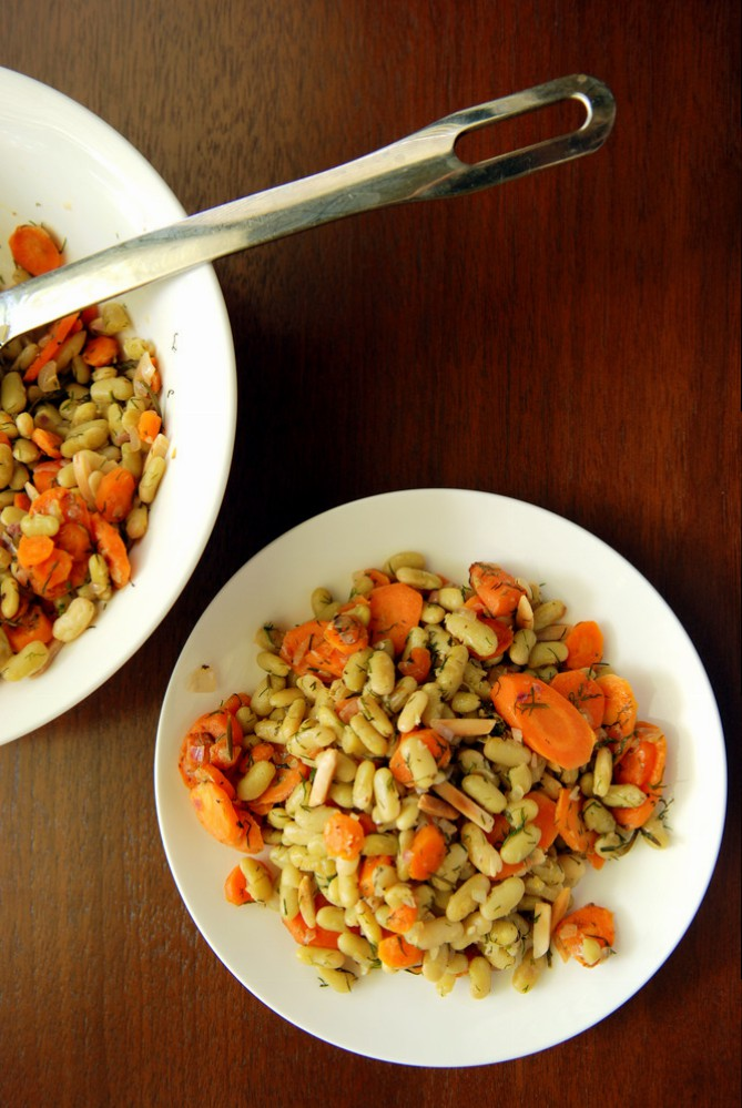Warm Carrot and Flageolet Bean Salad with Dill | the taste ...