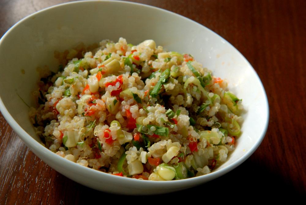 Lime-Cilantro Quinoa Corn Salad | the taste space