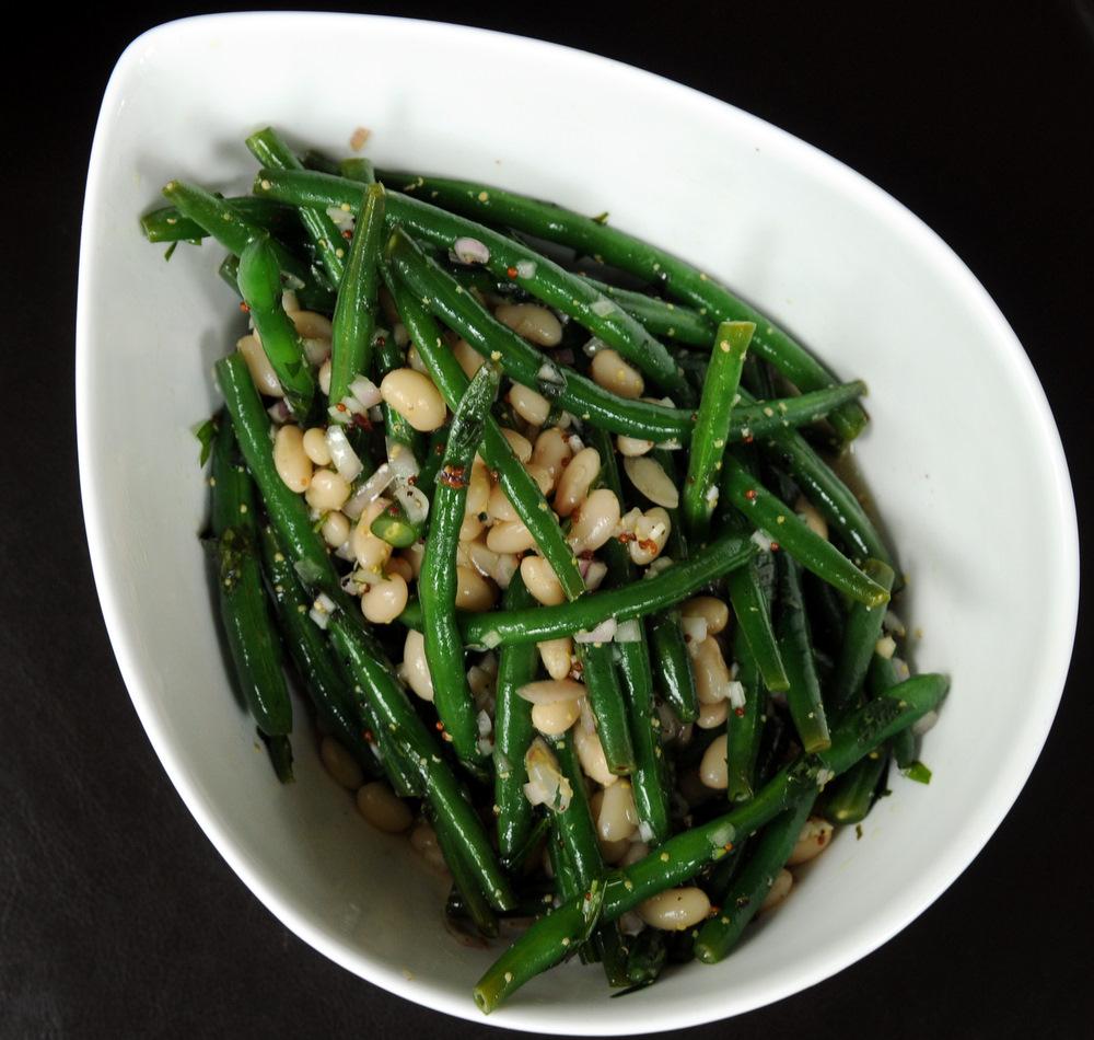 salad with a few bean green color hazelnut green bean and feta salad ...