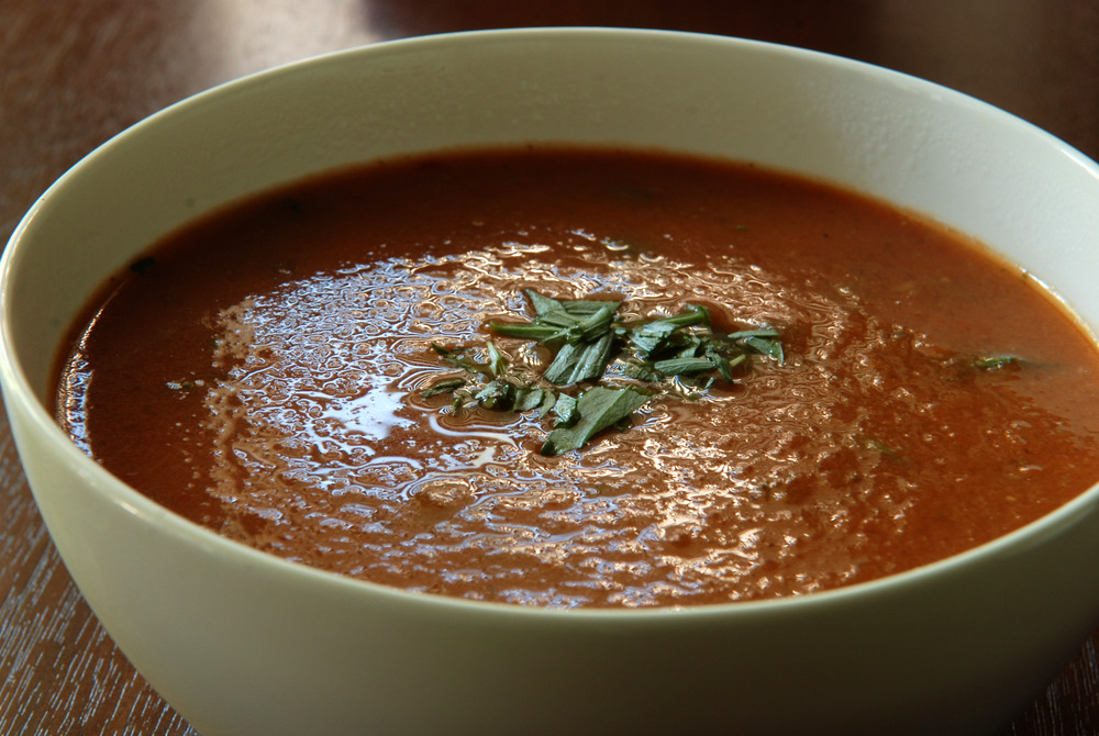 Tomato tarragon soup