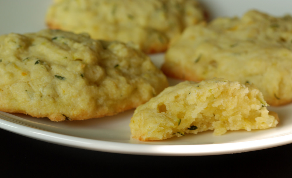 Battle of the) Lemon Zucchini Cookie | the taste space