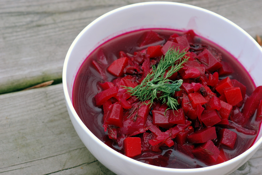 Christmas Eve Borscht (or Barszcz) | the taste space