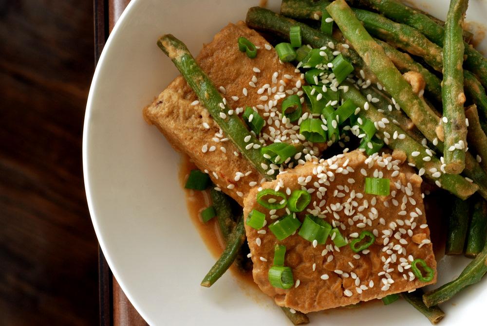 with tahini sauce balsamic glazed salmon with tahini sauteed kale ...
