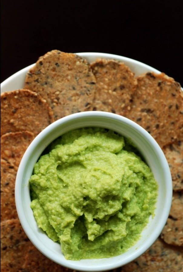 Green Velvet Guacamole (aka Guacamame or Edamame Guacamole)