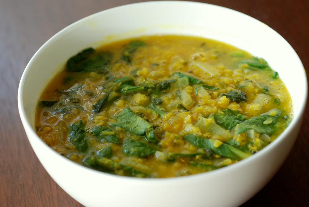 Both soups have similarities: red lentils, cumin, cilantro, onion and ...