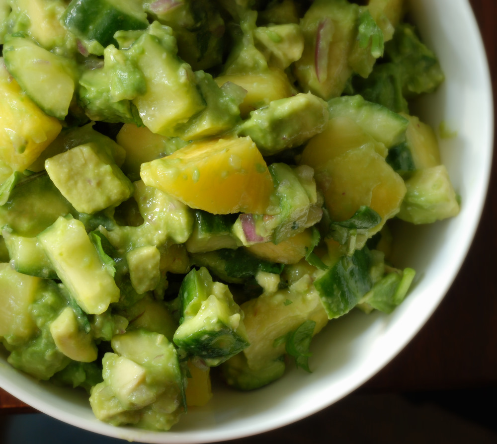 Pineapple and Cucumber Guacamole (Guacamole Con Piña y Pepino) | the ...