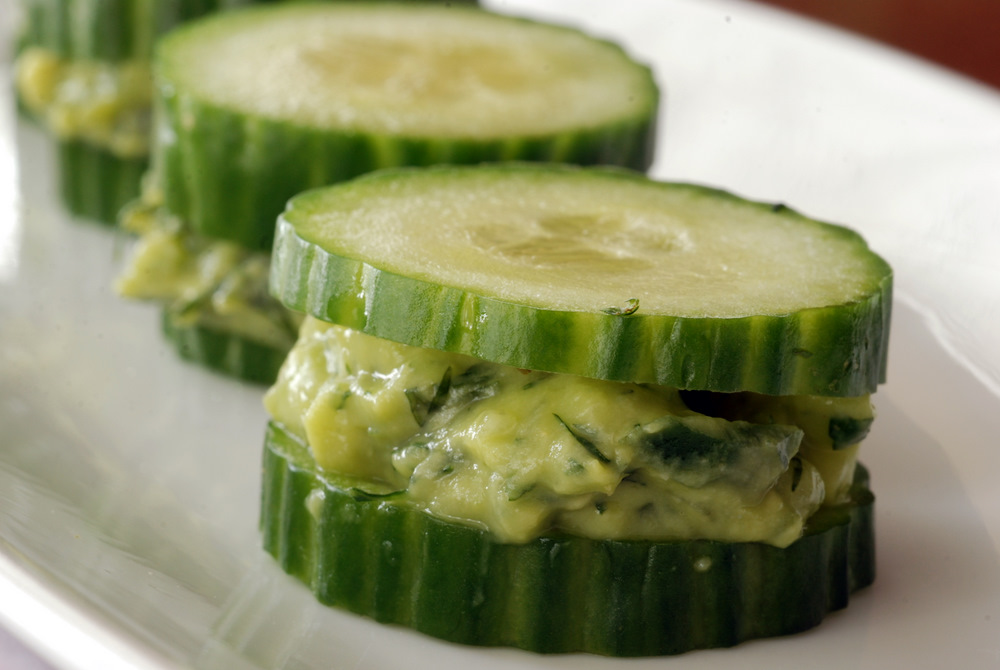 Cucumber Avocado Sandwiches With Dill and Mint   the taste space