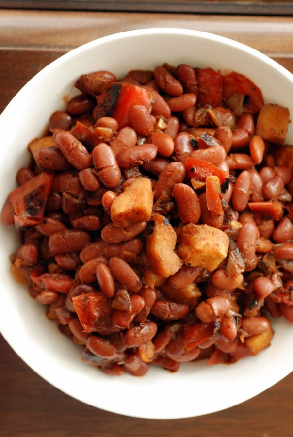 Colombian-Style Red Beans with Plantains | the taste space