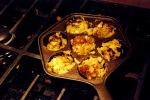 Baked Lemon Cilantro Pakoras