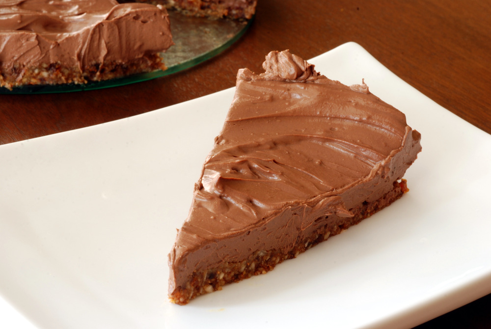 Chocolate Tofu Mousse Cake