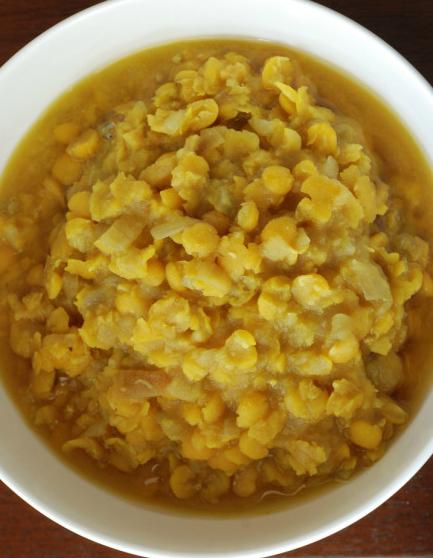 Ethiopian Split Pea Puree (Kik Alicha)