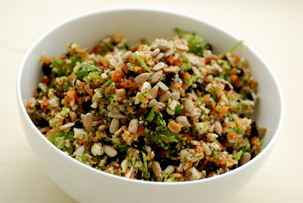 Image result for Cauliflower/Broccoli Rice