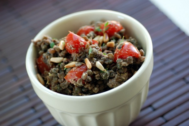 Lemon Mediterranean Lentil Salad