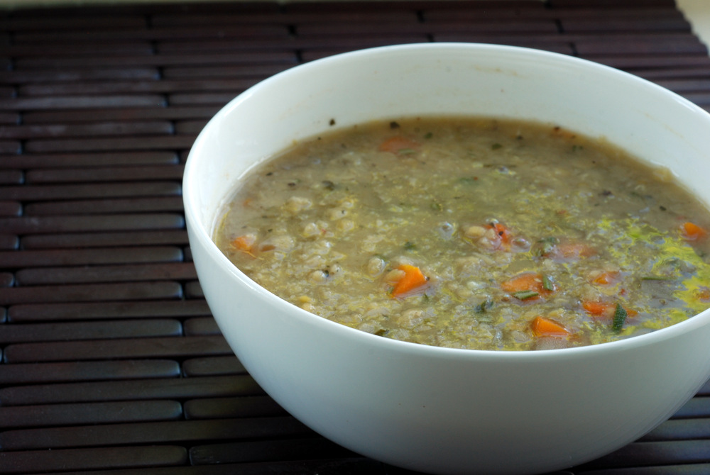 Greek Red Lentil Soup with Lemon and Rosemary (and How to Save Money ...