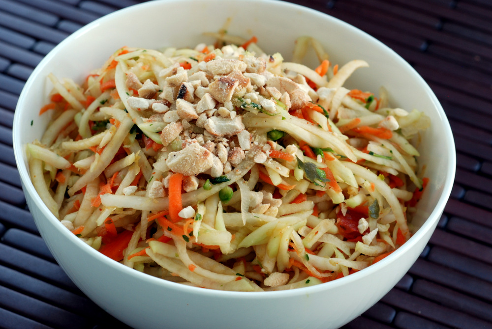 Did you do a double-take when you saw my Thai Noodle Salad with Mango ...