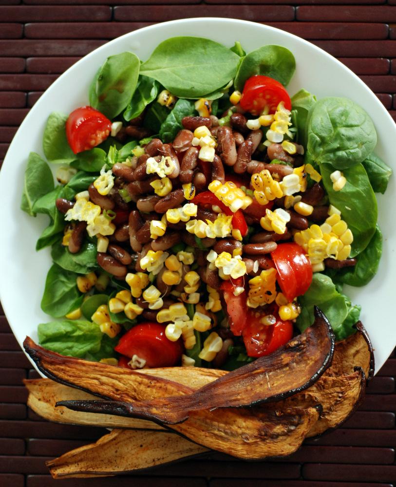 the blt corn lettuce wraps blt corn salad wraps grilled corn and blt ...