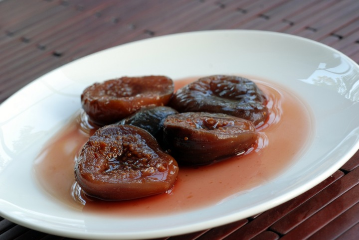 Madeira-Poached Figs with Lemon and Sage