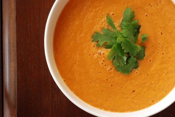 Carrot Ginger Lime Soup