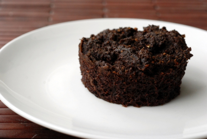 Chocolate Mint Mesquite Individual Cakes (and All Aboard the Poop Train)