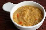 Lemon-Ginger Split Pea Soup with ToastedCoriander