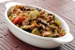 Simple Mushroom and Leek Mixed Grain Skillet