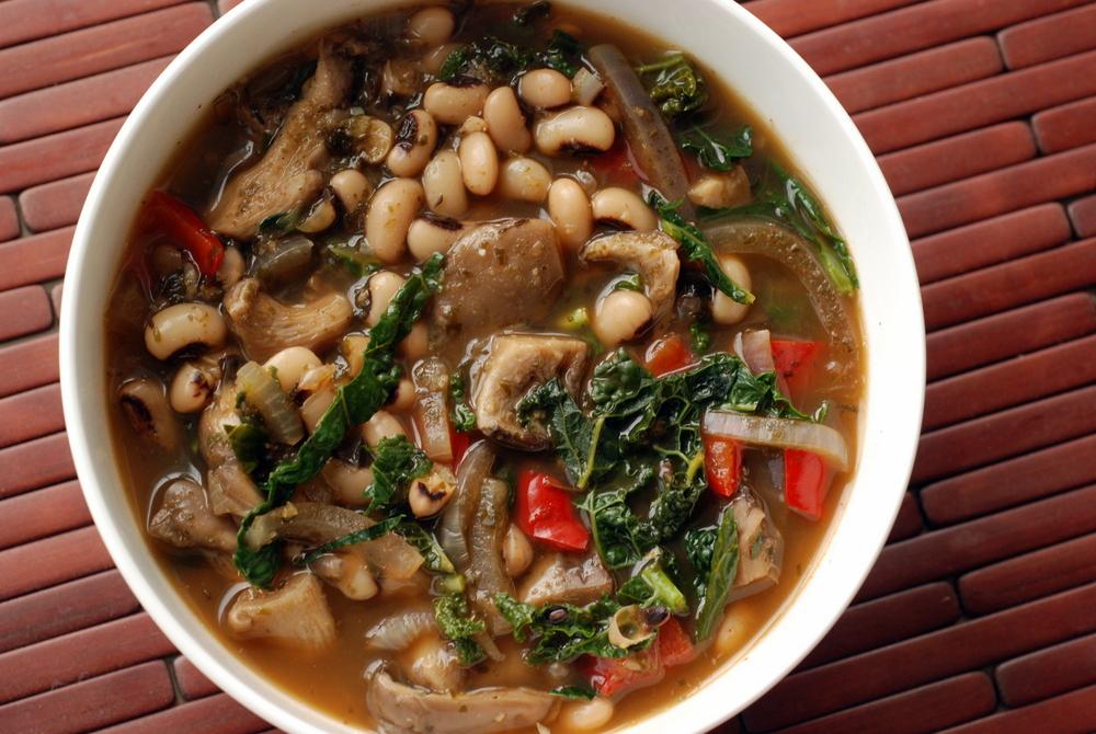 Smoky Black Eyed Pea And Kale Stew The Taste Space