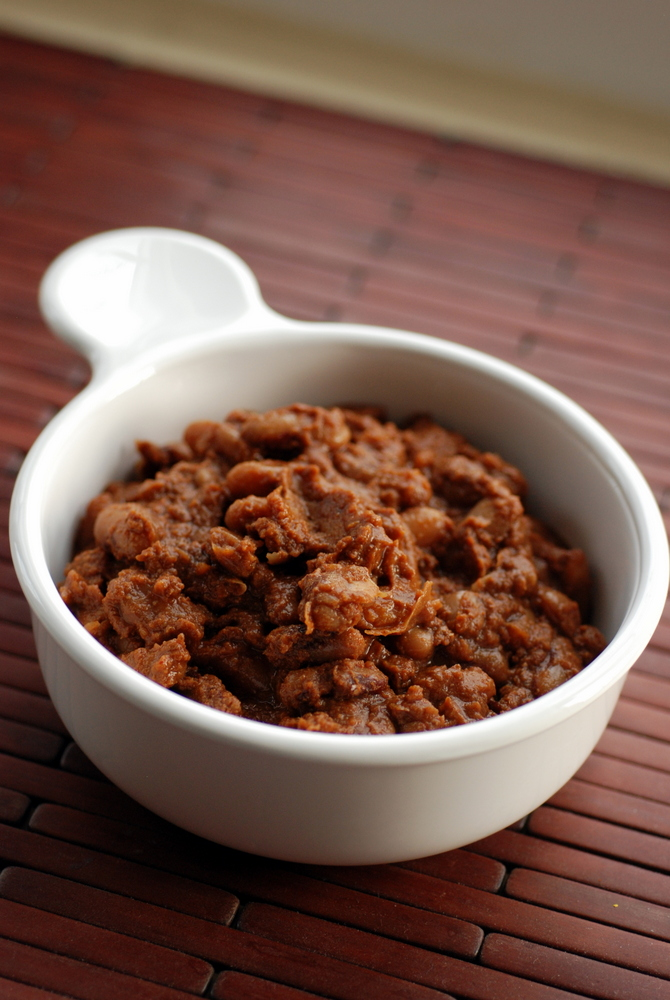 Slow-Cooked Nova Scotian Baked Beans (with European Soldier Beans)