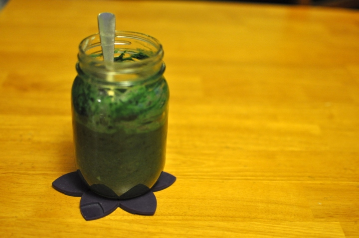 spirulina protein oatmeal