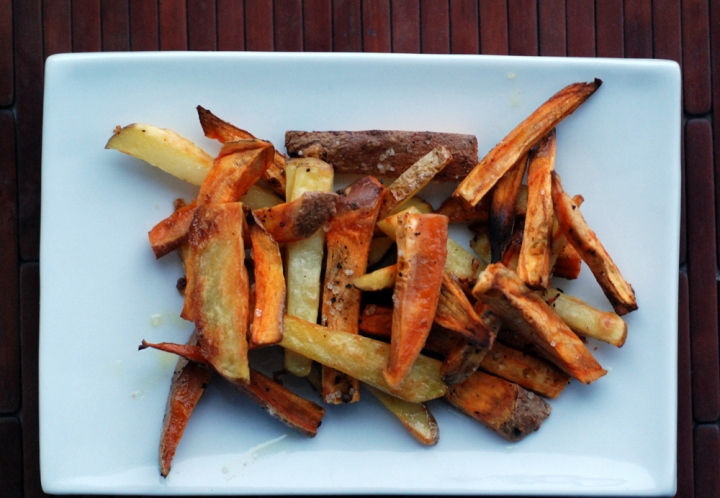 Beer-Soaked Crispy Sweet Potato Fries