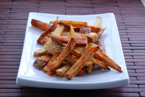Beer-Soaked Crispy Sweet Potato Fries