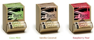 bare english vegan lip balms