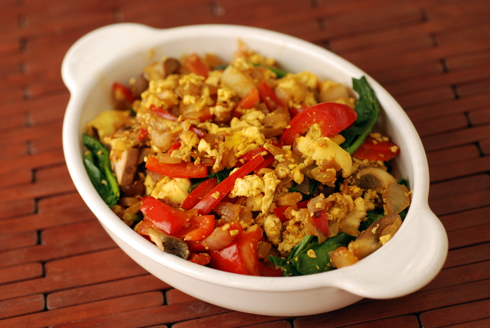 tofu scramble in breakfasts favourites mains vegetarian on march 10 ...