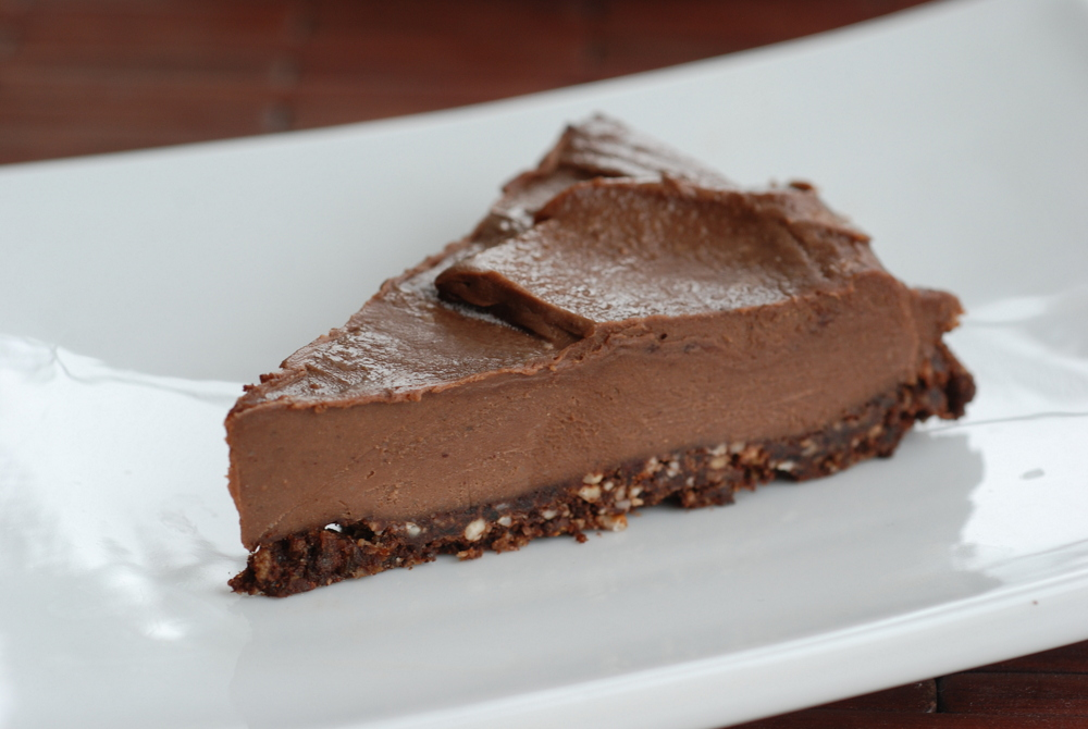 pulled out hazelnut butter eureka a raw chocolate hazelnut cheesecake