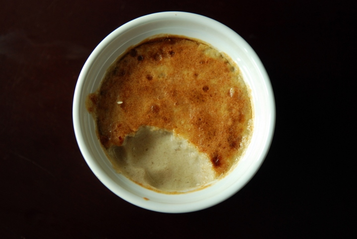 Ridiculously Easy Banana Creme Brulee