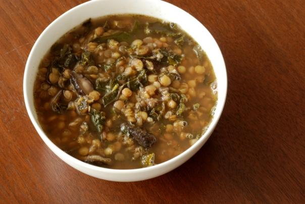 Holy Shiitake Lentil Soup