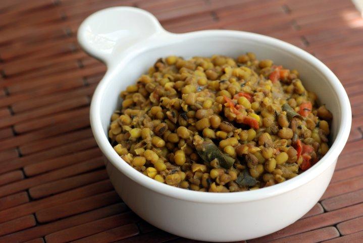 Creamy Mung Bean Curry