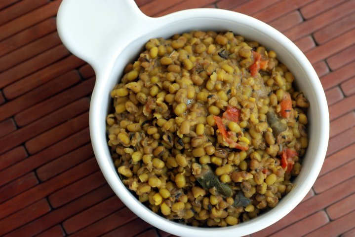 Creamy Mung Bean Curry