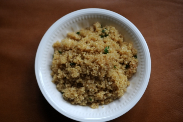 Quinoa Pilaf with Lemon and Thyme
