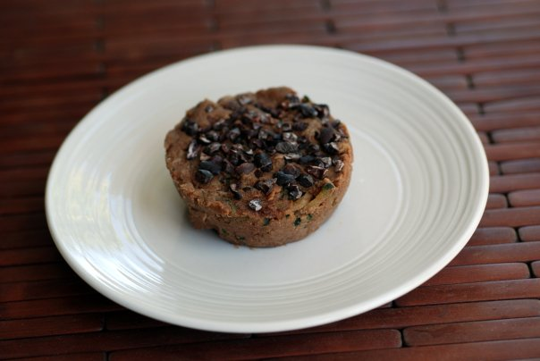 Raw Chocolate Zucchini Muffins (Nut-Free)