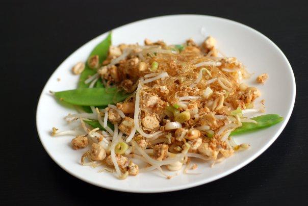 Snow Pea & Tofu Pad Thai